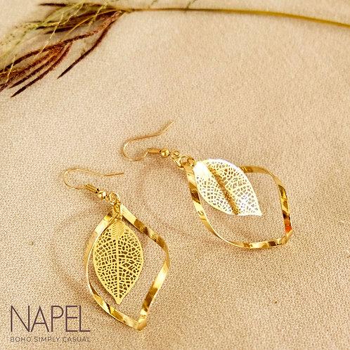 Boho Earring - Leaf