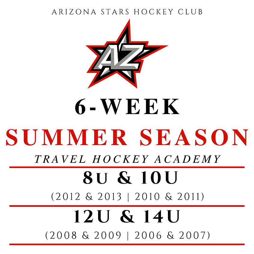 6-WEEK SUMMER SEASON