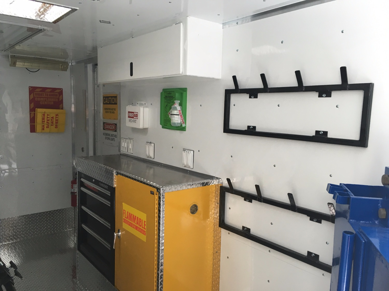 7x14ft Wheel Repair Unit