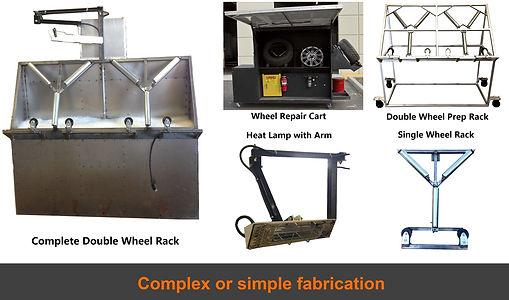 wheel repair rim repair equipment