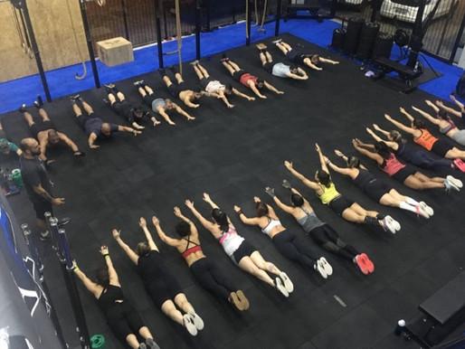 Trabalho de SKILL (Técnica) na estrutura de uma aula em Grupo de Cross na CF Syna