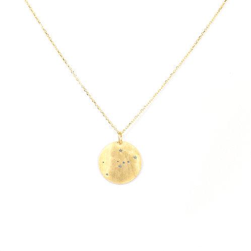Fio prata dourada Constelaçōes