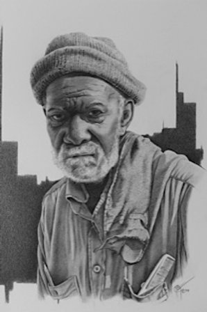Gramps / Pencil Painting