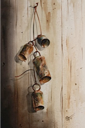 The Bells / Watercolor