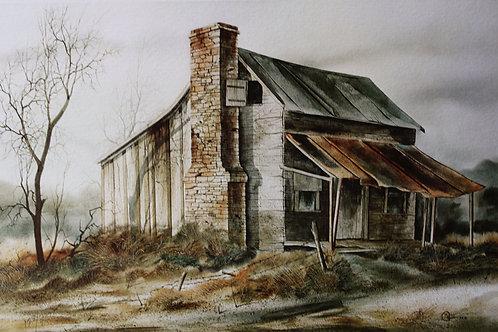 """Grandmum's House / Watercolor / 10""""x 14"""""""