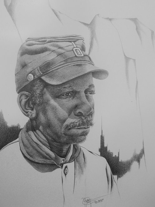 That Buffalo Soldier / Pencil Painting