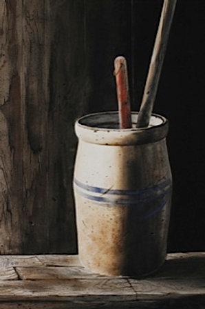 The Churn I / Watercolor