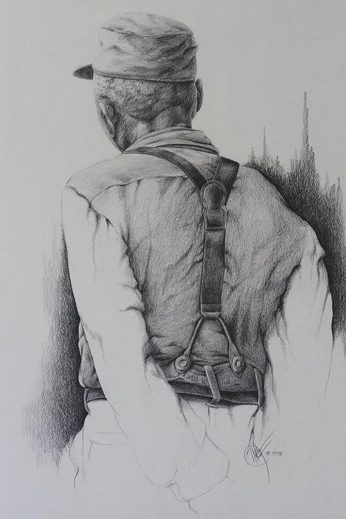 Uncle Ben / Pencil Painting