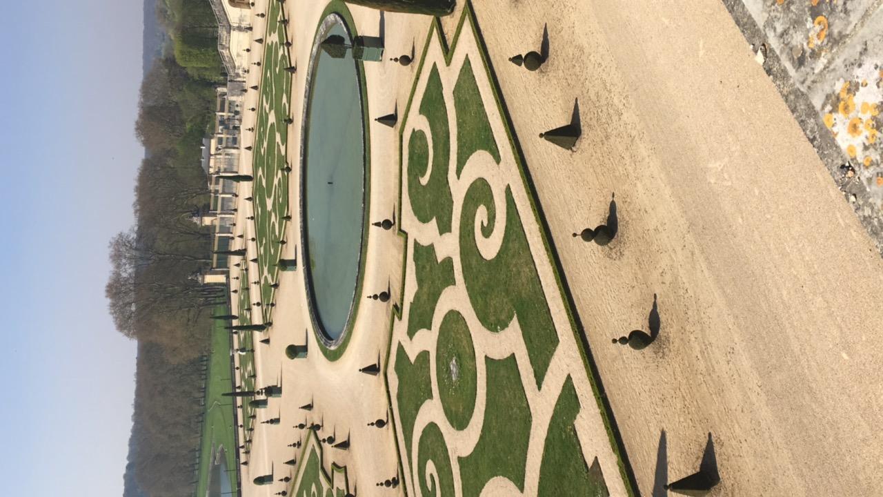 les jardins at Chateau de Versailles