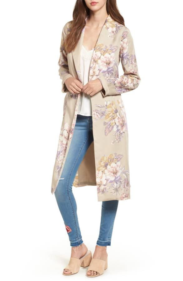 Leith Floral Duster