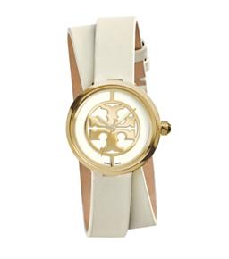 Tory Burch Reva Double-Wrap Watch in Ivory $295