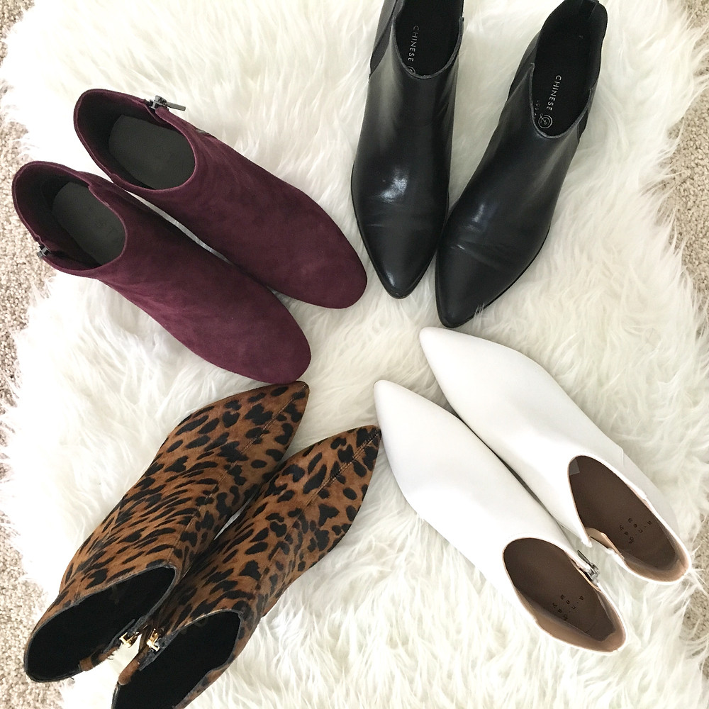 fall ankle booties