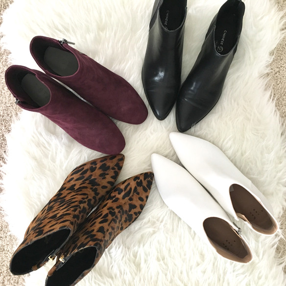 Affordable Fall Booties