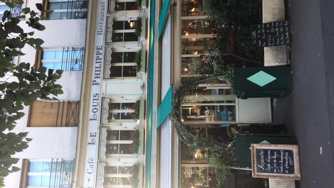 Cafe Le Louis Philippe
