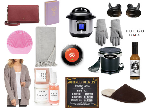 Gift Guide - for Your Parents
