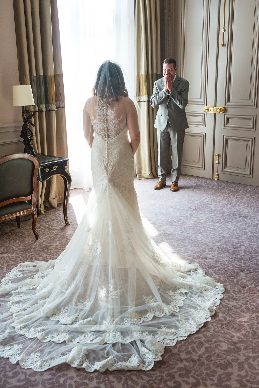 our paris wedding