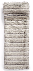 faux fur sleeping bag