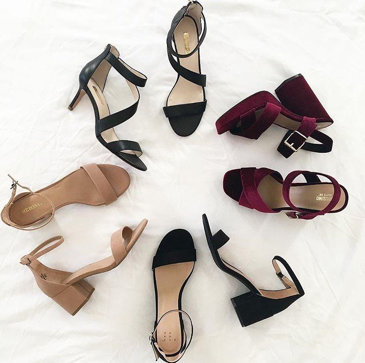 spring summer heels