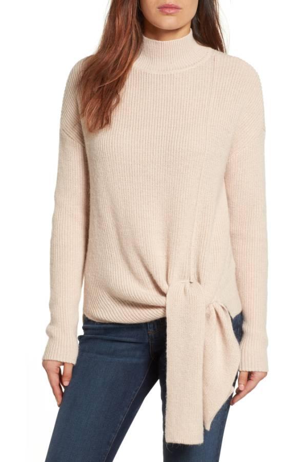 Halogen Tie Hem Sweater