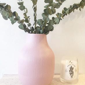 Blush Pink Vase
