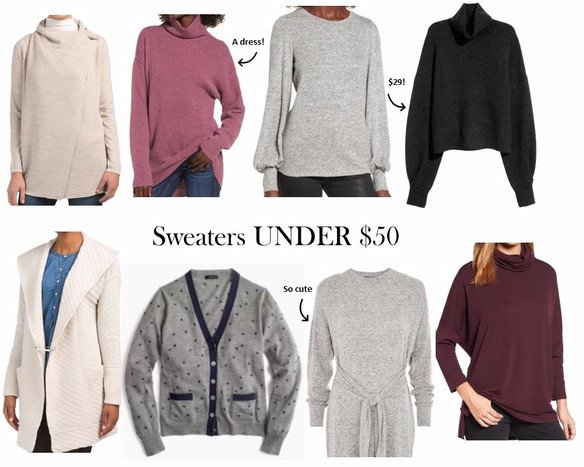 The Coziest Sweaters Under $50