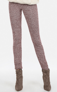 chenille leggings