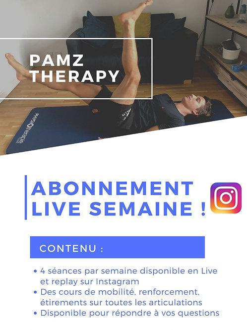 Abonnement Live SEMAINE