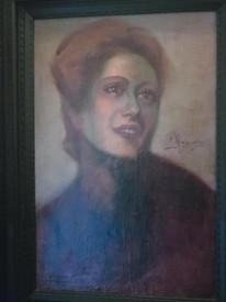Ritratto di donna di Enea Marras