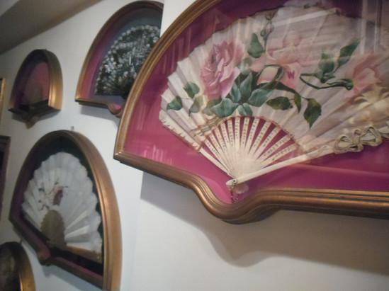 Collezione di ventagli dell'Ottocento
