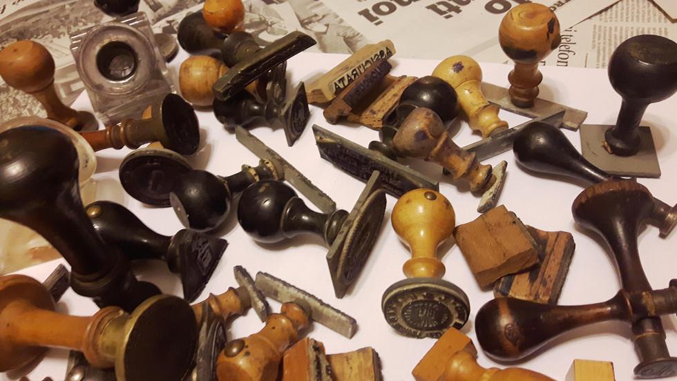 Collezione di timbri amministrativi (1857-1948)