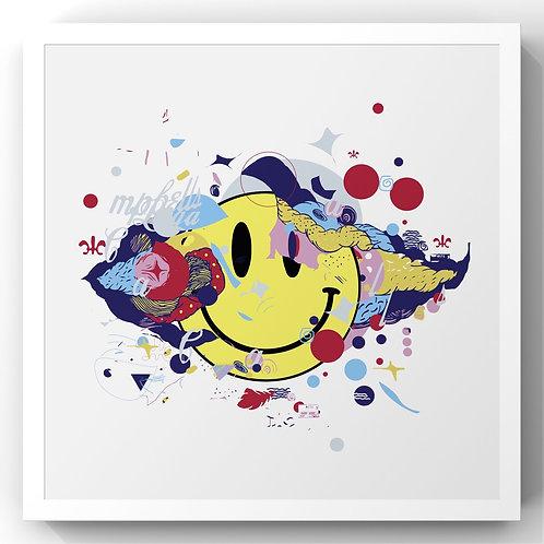 Smile 😃 - Print (sem moldura)