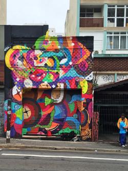 Graffiti Rua Augusta