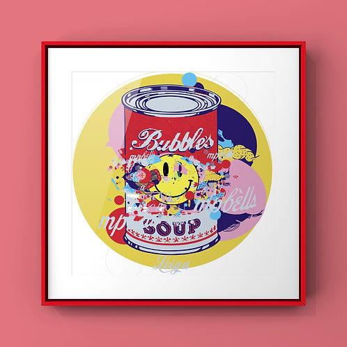 Print - Sopa de bubbles