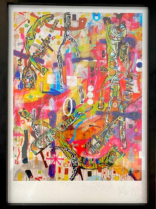 Print Díptico 01 - Ciro Schu & Leiga