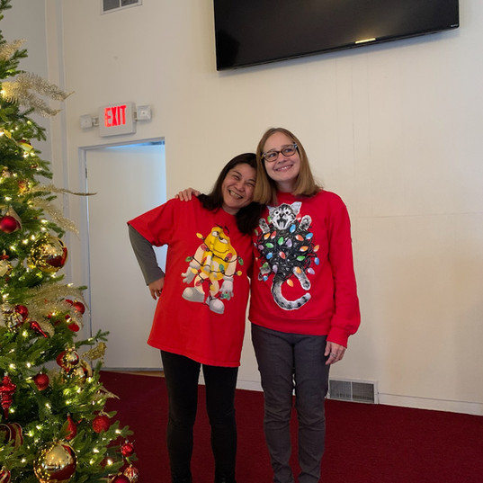 Ugly Sweaters and Cookie Exchange