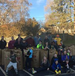 Cub Scout Church Clean up