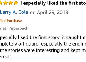 More Reviews! When It Rains, It Pours!