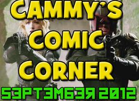 Cammy's Comic Corner - September 2012