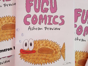 FUGU COMICS Comic-Con Preview!