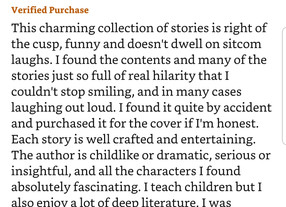 Heartwarming Review for MORSELS OF DELIGHT!