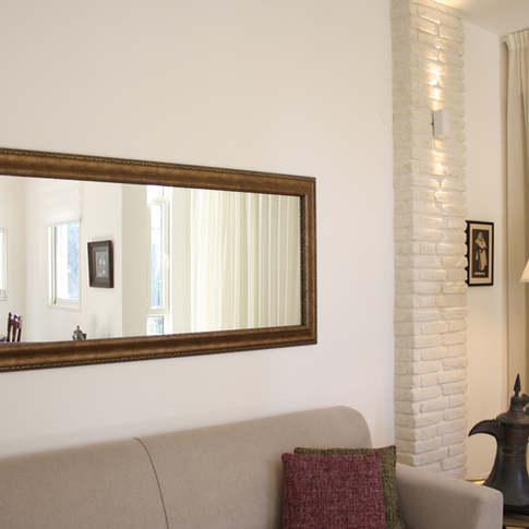 תכנון מחדש ועיצוב פנים לדירה בתל אביב
