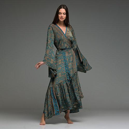 Long dress in kimono style from boho love