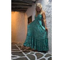 LD165. Long Ola Dress  from Boho Love