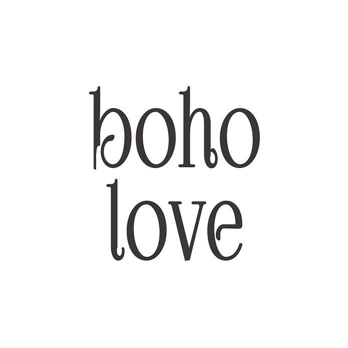 boho love logo