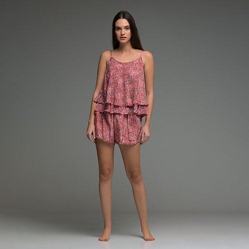 Rose Shorts from boho love front view