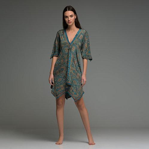Short netura Poncho Dress from boho love
