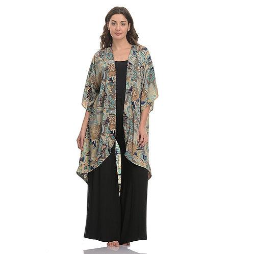 Mini To Maxi Kimono