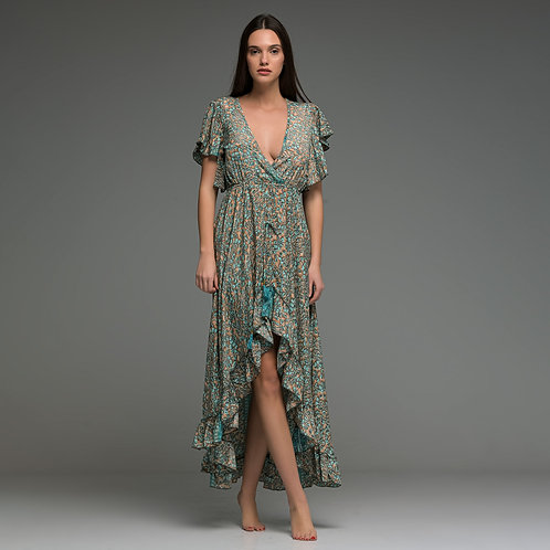 Midi to Maxi Dress from boho love front view
