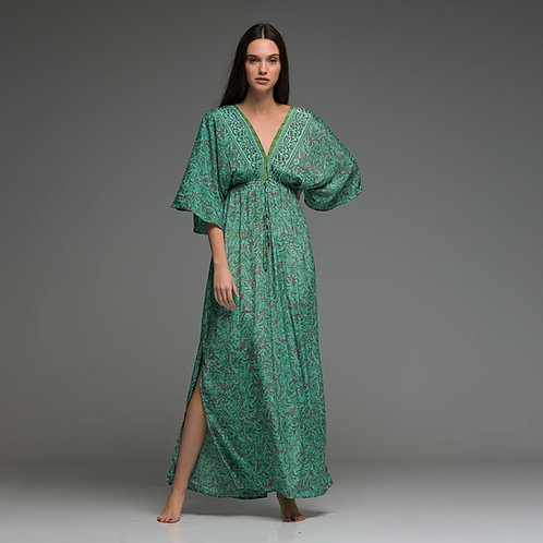 Fabulous Dress from boho love front view green