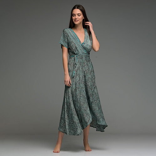 Wrap Around midi dress from boho love